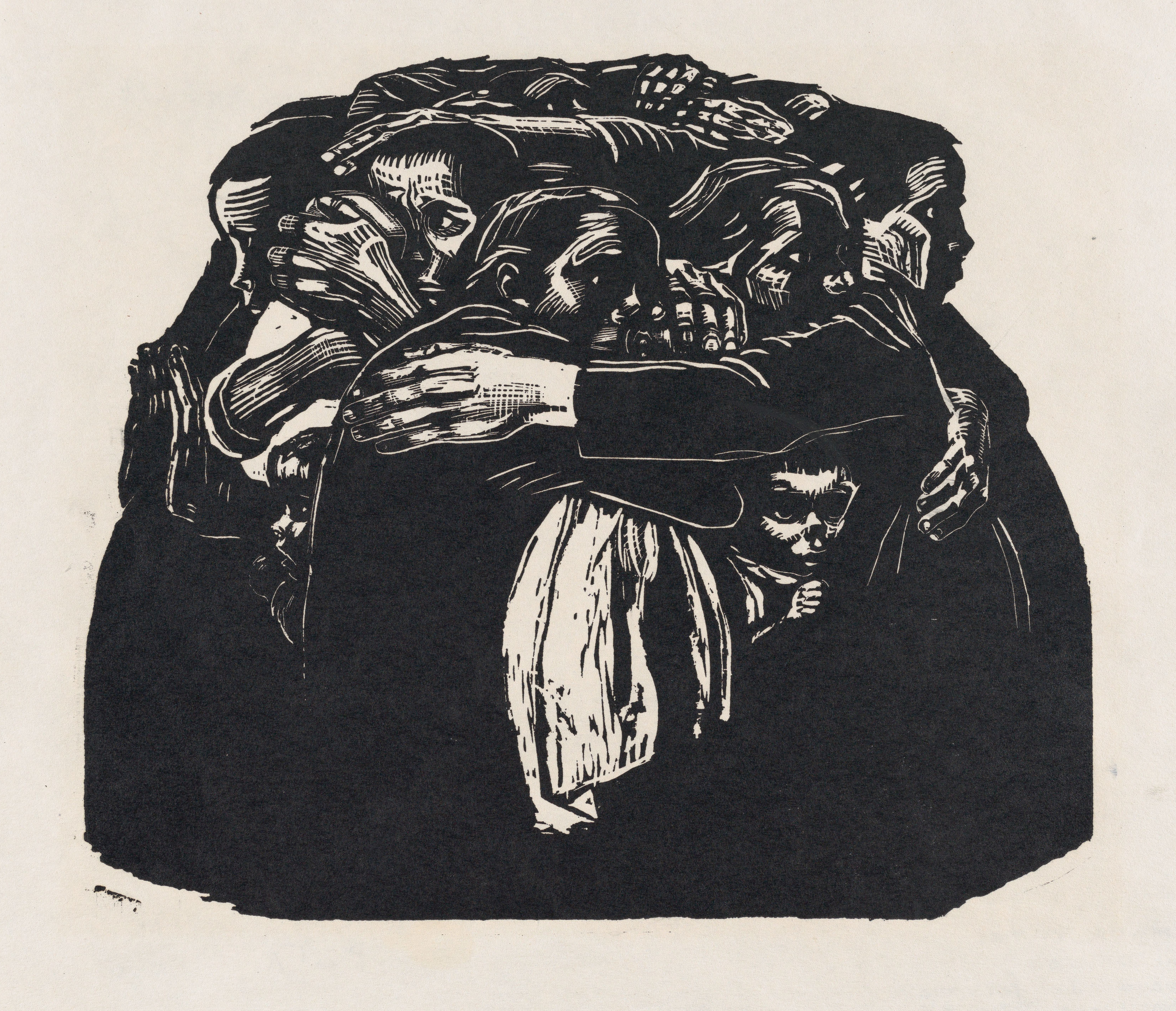 Käthe Kollwitz The Mothers