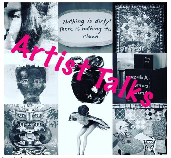 Poster for Herland Art Talk